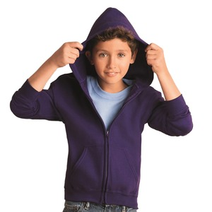 Gildan Heavy Blend™ Youth 8 oz., 50/50 Full-Zip Hood