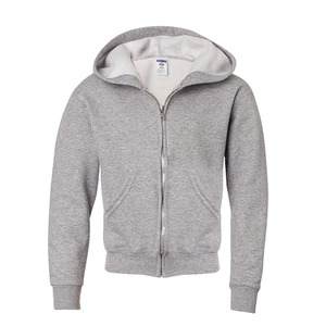 Jerzees NuBlend® Youth Full-Zip Hooded Sweatshirt