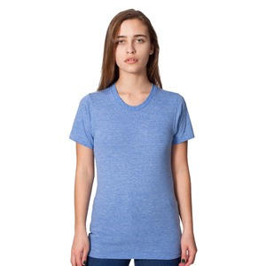 American Apparel Adult Unisex  Tri-Blend Track Shirt