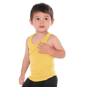 Unisex Infants Ribbed Tank