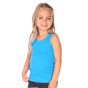Toddler Ribbed Tunic Tank