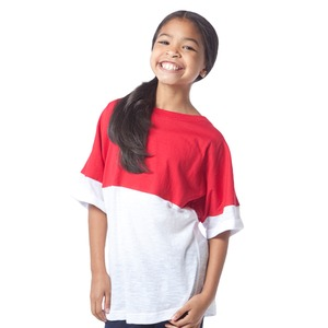 Youth Short Sleeve Pom Pom Model