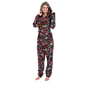 Boxercraft Holiday Cheers Hooded Adult Union Suit