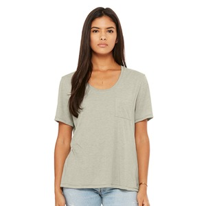 Bella + Canvas Fast Fashion Ladies' Flowy Pocket Tee