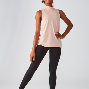Bella + Canvas Fast Fashion Ladies Mock Neck Tank