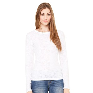 Bella Ladies' Burnout Long Sleeve T-Shirt