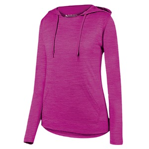 Augusta Ladies Shadow Tonal Heather Hoody