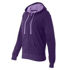Independent Trading Co. Juniors' Two-Color Deluxe Fleece