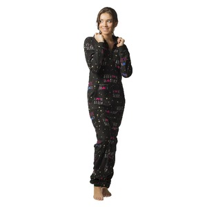 Boxercraft Holiday Sleep Adult Hooded Union Suit