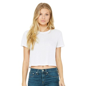 Bella Fast Fashion Ladies' Flowy Cropped Tee
