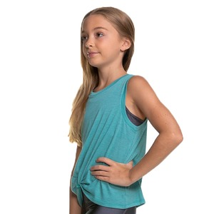 Girls Squad Knotted Muscle Top