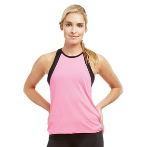 Ladies High Neck Track Tank