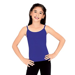 Studio Essentials Girls Fine Rib Spaghetti Strap Tank