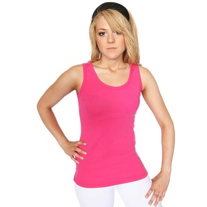 Studio Essentials Ladies Fine Rib Tank Top