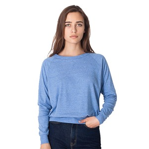 American Apparel Adult Unisex Triblend Raglan Pullover