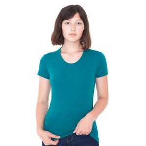 American Apparel Ladies' Tri-Blend S/S Track T-Shirt