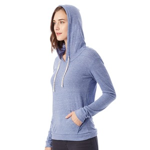 Alternative Women's Eco-Jersey Classic Hooded Pullover T-Shirt