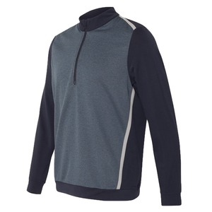 Adidas Golf Quarter-Zip Birdseye Fleece Pullover