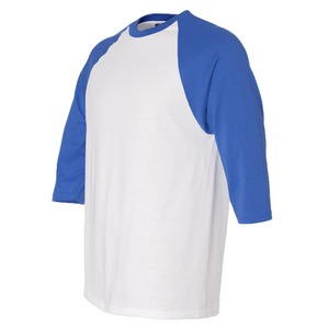 Adult Unisex Three-Quarter Sleeve Raglan Baseball T-Shirt