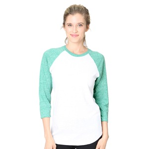 Royal Apparel Unisex Triblend Raglan Baseball Shirt