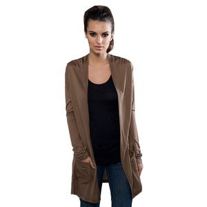 eco MicroModal® Fine Jersey Long Sleeve Front Pocket Cardigan