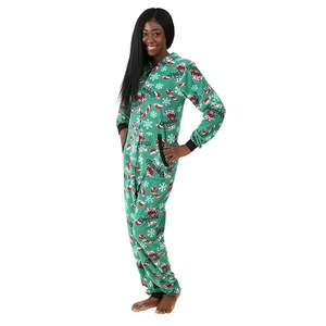 Boxercraft Holiday Naughty Adult Hooded Union Suit