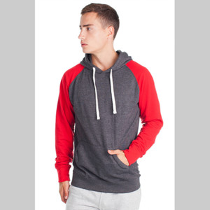 Unisex 2 Tone French Terry Hoodie