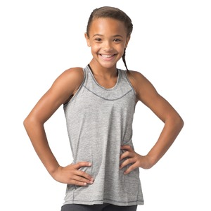 Girls Tiger Slub Tank