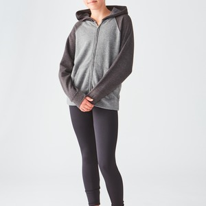 Youth Lightweight Retail Blend Raglan Zip Hoodie
