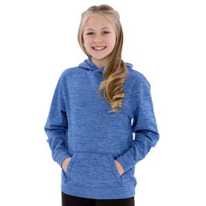 Youth Heather Fleece Hooded Sweatshirt