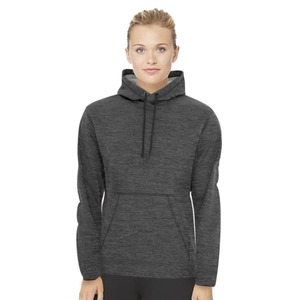 Adult Unisex Heather Fleece Hooded Sweatshirt