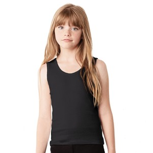 Studio Essentials Girls Fine Rib Tank Top